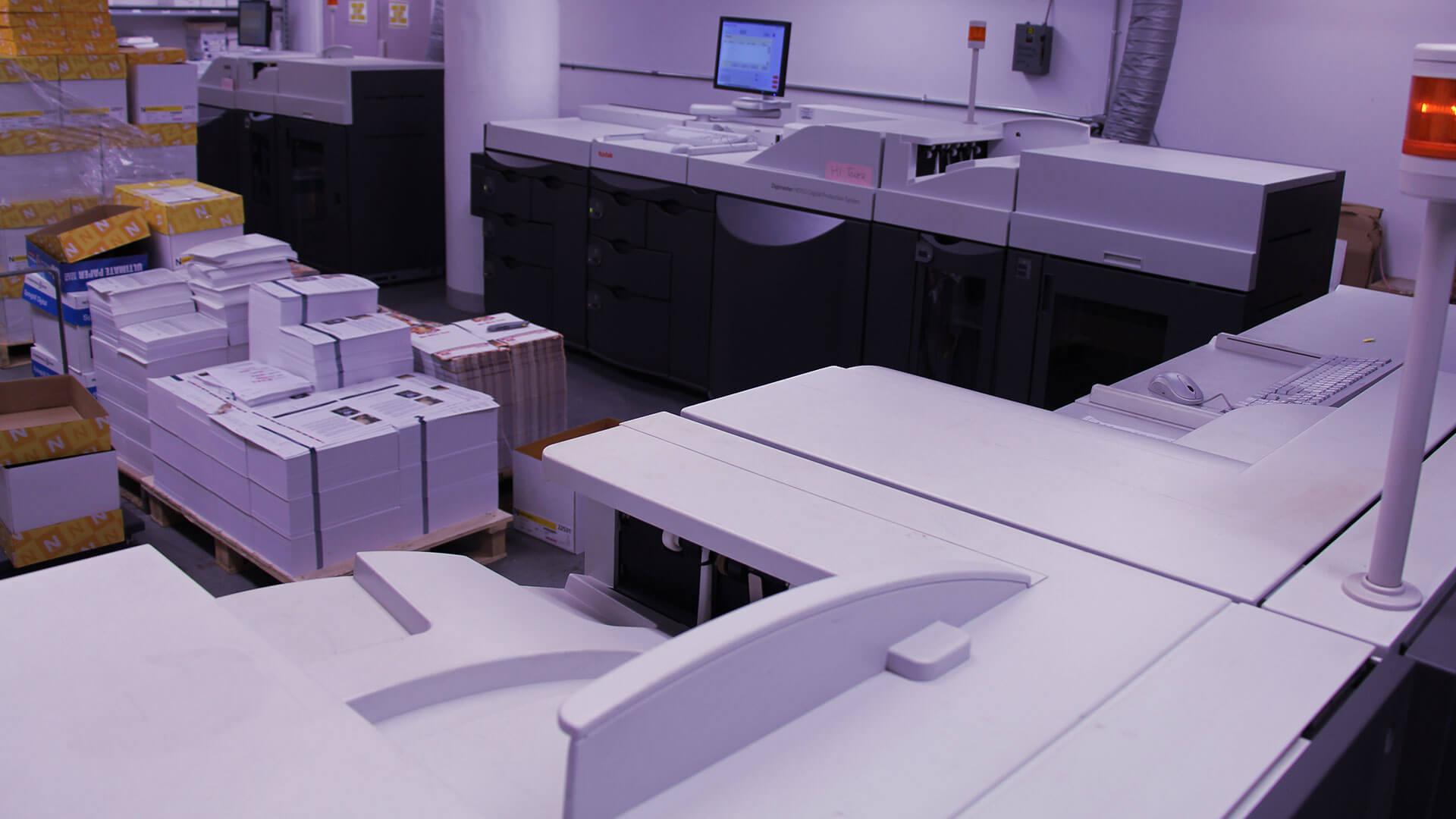 Digital Printing Department