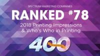 Ranked #78 top 400 Printing Impressions
